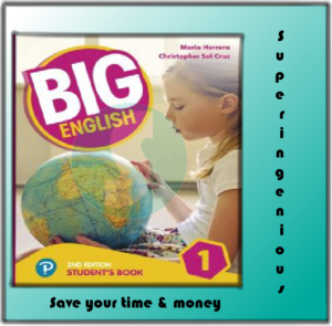 Big English • Level 1 •Student's Book +CD (2017)