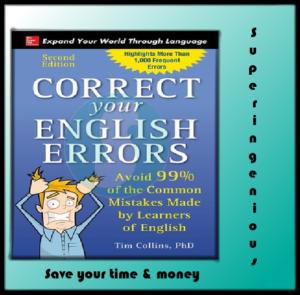 Correct Your English Errors, Edition 2018