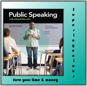 Public Speaking: The Evolving Art