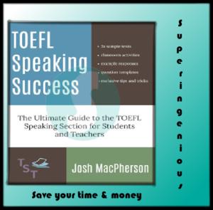TOEFL Speaking Success