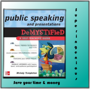 Public Speaking and Presentations DeMystified-free download