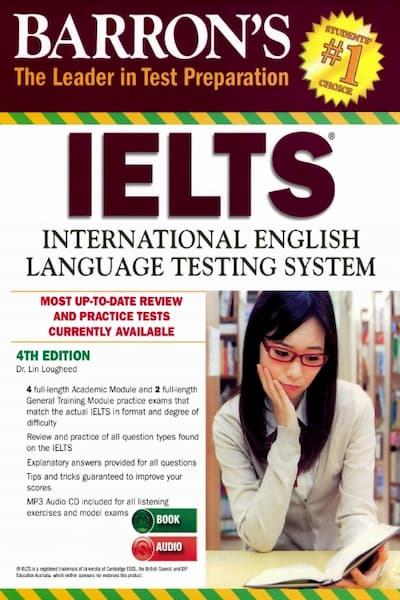 Barron's IELTS Dr. Lin Lougheed 4thed (pdf+ Audio)