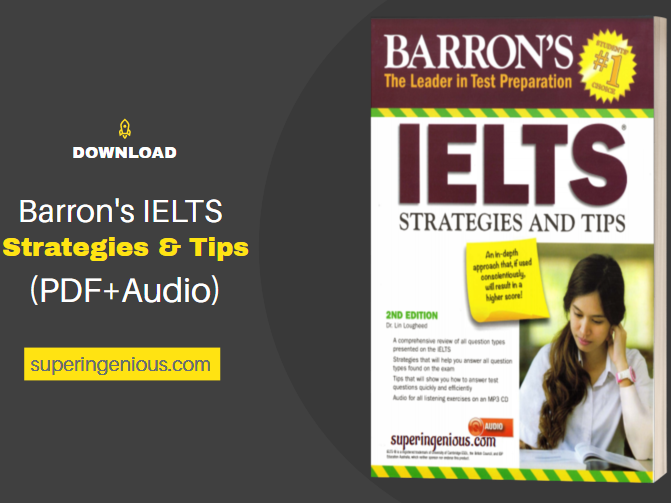 Download Barron's IELTS Strategies and Tips