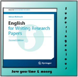 English for Writing Research Papers-free download