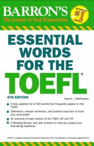 Barron's Essential Words for TOEFL
