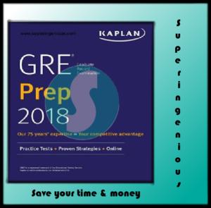 Kaplan's GRE Prep 2018