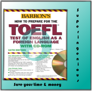 Barron's How to Prepare for the TOEFL 11th Edition