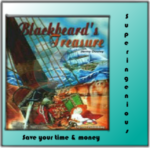 Blackbeard's Treasure (PDF+Audio)