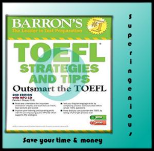 Barron's. TOEFL Strategies and Tips (pdf+Audio CD)