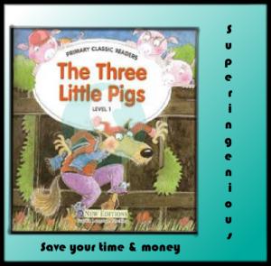 The Three Little Pigs (pdf+Audio)