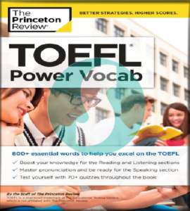 TOEFL Power Vocabulary
