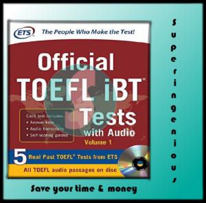 Official TOEFL iBT Tests Volume 1 (PDF+DVD)