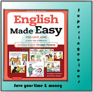 English Made Easy Volume (One+ Two) A New ESL Approach: Learning English Through Pictures