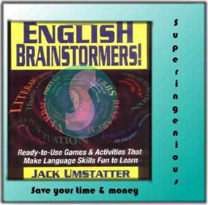 English Brainstormers Ready to Use Games & Activities