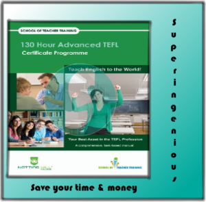 130 hour Advanced TEFL books free download
