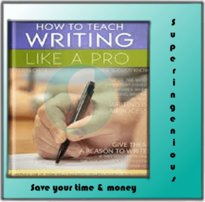 How to teach writing like a pro
