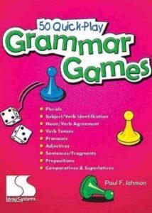 50 quick play Grammar  Games