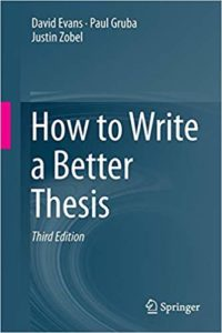 "How to Write a Better Thesis ""books"""