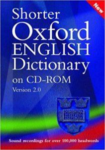Shorter Oxford English Dictionary 2.0