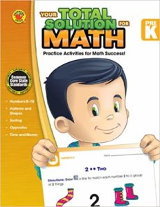 Your Total Solution for Math-Prekindergarten