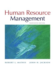 Human Resource Management 13th Edition