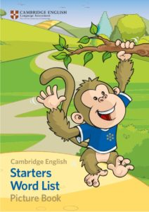 starters word list picture book