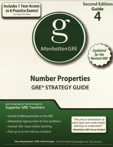 Manhattan GRE Guide 4