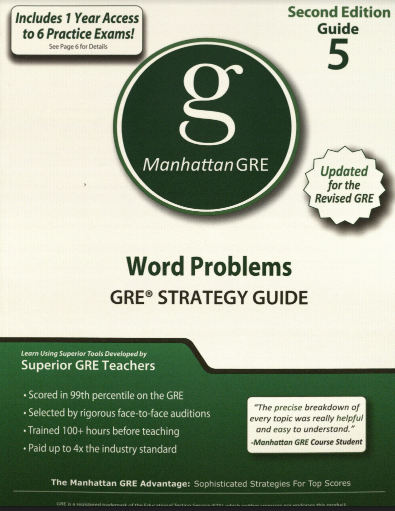 Manhattan GRE Guide 5