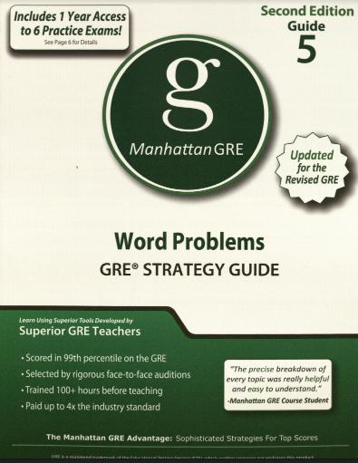 Manhattan GRE Guide 5
