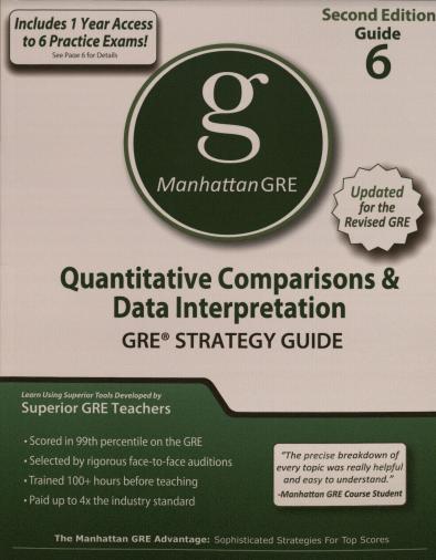 Manhattan GRE Guide 6