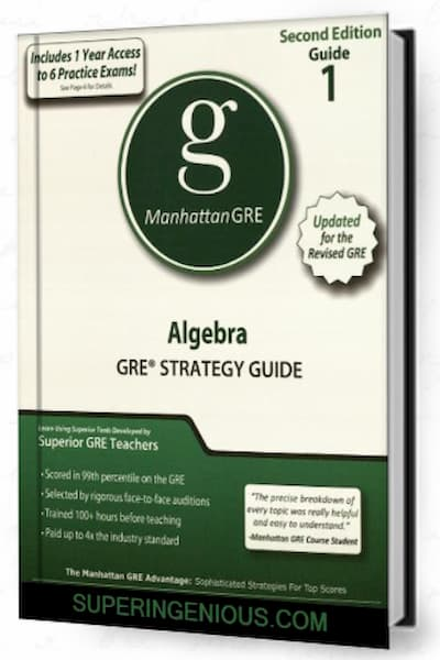 Manhattan GRE Guide 2 is an updated for the revised GRE, these strategy guides contain detailed lessons and strategies for question formats that will appear on the revised GRE.