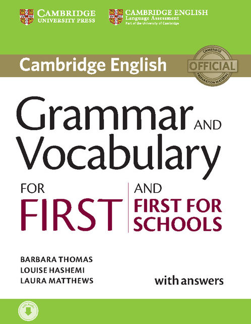 Cambridge Grammar & Vocabulary For First