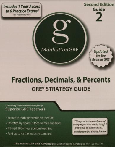 Manhattan GRE Guide 2