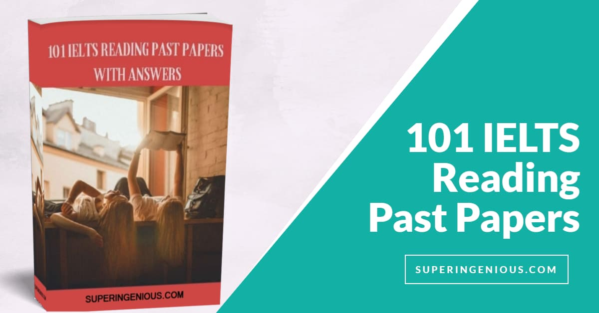 101 IELTS Reading Past Papers With Answers 2019 PDF