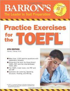 Barron's Practice Exercises For The TOEFL (PDF+Audio)