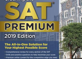 Cracking the SAT Premium Edition 2019