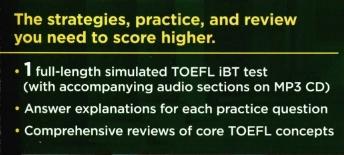 Cracking the TOEFL iBT 2019 Edition