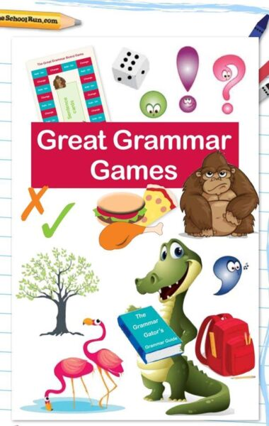Great Grammar Games  in primary school