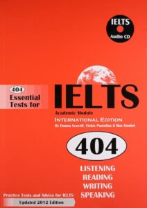 404 Essential Tests for IELTS  (PDF+Audio)
