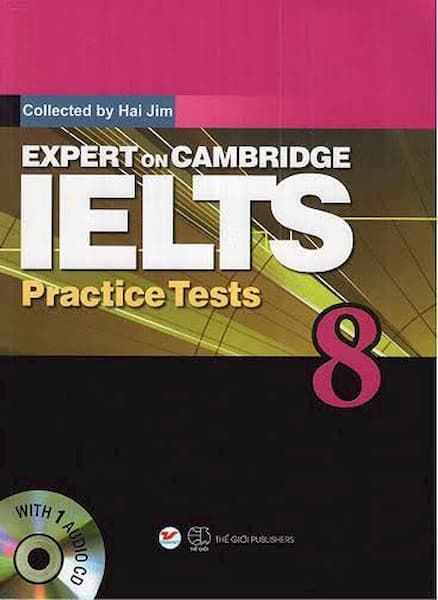 Expert on Cambridge IELTS 8 Practice Tests (PDF+Audio)