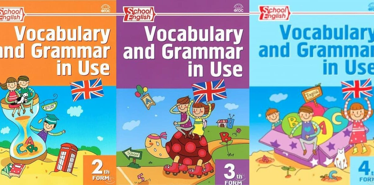 Grammar and Vocabulary in use for kids