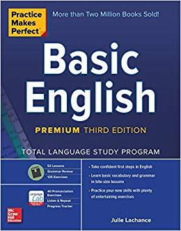 Practice Makes Perfect Basic English 2019