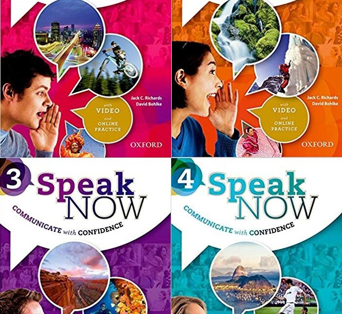 Speak Now a four-level speaking course