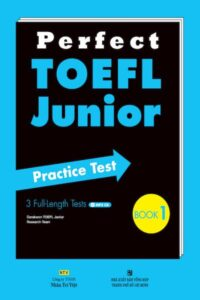 Perfect TOEFL Junior Practice Test Book 1 (PDF+Audio)