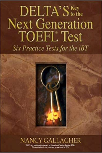 Delta's Key to the Next Generation TOEFL Test (PDF+CD)