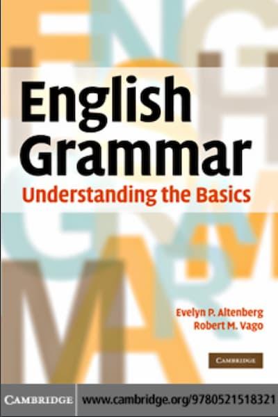 English Grammar Understanding the Basics by Evelyn P.Altenberg