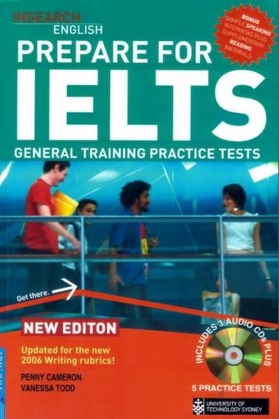 Download Prepare for IELTS – General Training Practice Tests (PDF & Audio)