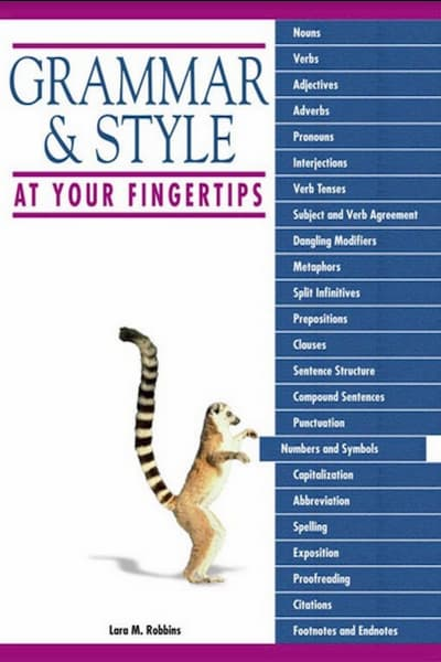 GRAMMAR& STYLE AT YOUR FINGERTIPS