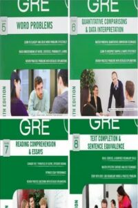 Manhattan Prep's 4th Edition GRE Strategy Guides (5-8)