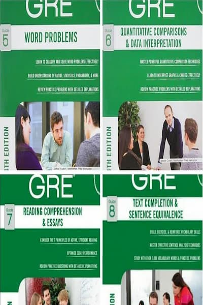 Manhattan Prep GRE Set of 8 Strategy Guides (5-8)